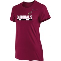 Ione 15: Nike Women's Legend Short-Sleeve Training Top- Cardinal