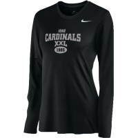Ione 18: Nike Women's Legend Long-Sleeve Training Top - Black