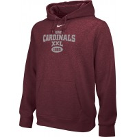 Ione 29: Adult-Size - Nike Team Club Fleece Training Hoodie (Unisex) - Cardinal