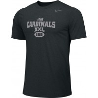 Ione 10: Adult-Size - Nike Team Legend Short-Sleeve Crew T-Shirt - Black