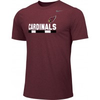 Ione 13: Adult-Size - Nike Team Legend Short-Sleeve Crew T-Shirt - Cardinal